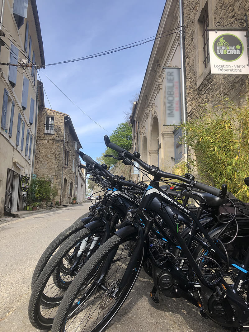 Location vélo avec livraison Rent Bije Lubéron