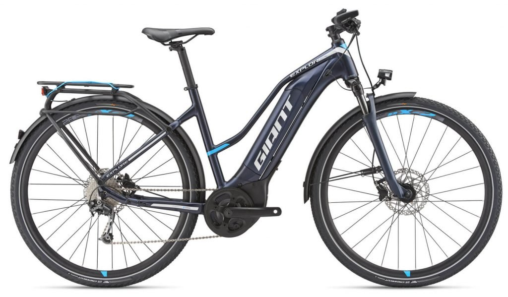 Vélo giant explore e+2